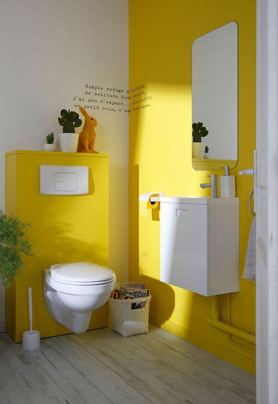 Salle De Bain Vert Anis : Crown kleurenwaaier geel painttrade