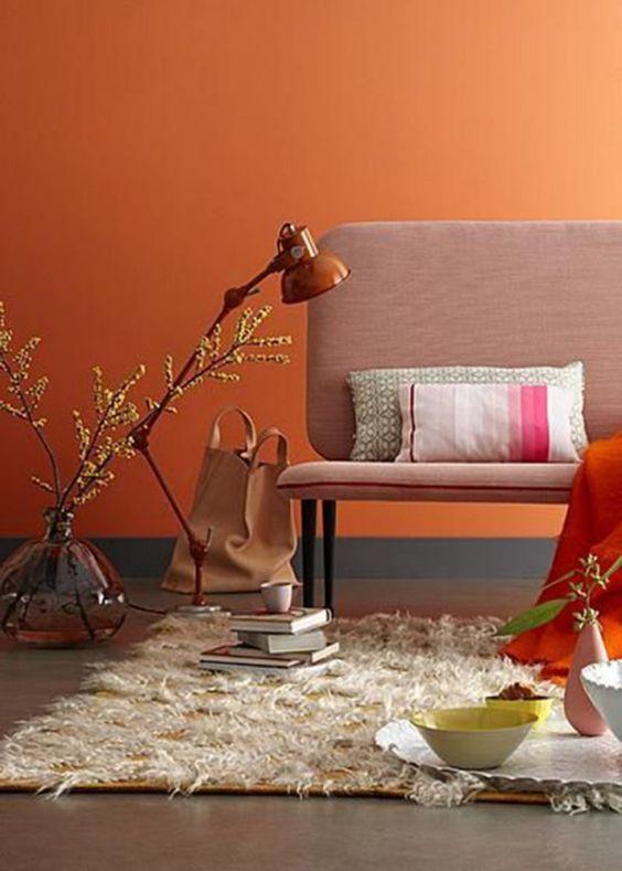 Le Nuancier Crown Des Jaunes Et Des Oranges Pour Vos Murs