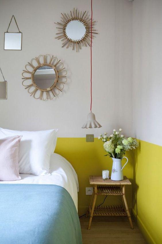 Crown kleurenwaaier - Geel - Painttrade