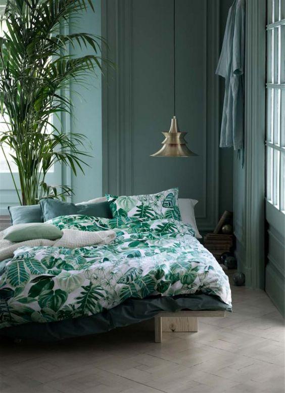 Le Vert En Deco Le Nuancier Des Verts Painttrade